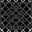 Website Development Cog Icon