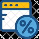Website Discount Icon
