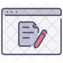 Website Document Icon