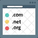 Website Domain Domain Value Worldwide Icon