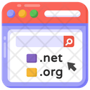 Website Domains Icon