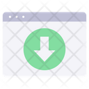 Website Download Icon