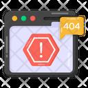 Website Error Icon