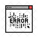 Computer Error Color Icon