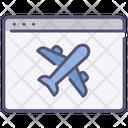 Website Flight Icon