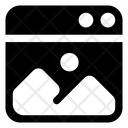 Website Graphics Icon