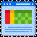 Webpage Website Grid Icon
