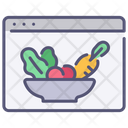 Website Healthy Food Icon