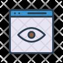 Website Impression Icon