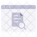 Website Information Icon