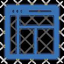 Website Layout Webpage Layout Icon
