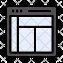 Webpage Design Layout Icon