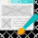 Seo Marketing Business Icon