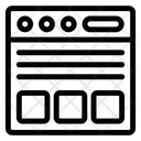 Web Design Website Layout Website Design Icon