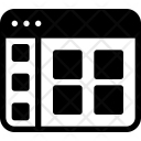 Grid View Website Icon