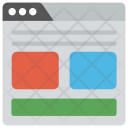 Web Layouts Template Icon
