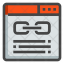 Page Link Html Icon