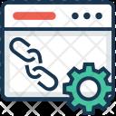 Website Linkage Icon