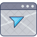 Website Location Navigation Map Icon