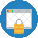 Website Lock Wwebpage Lock Website Icon