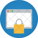 Website Lock Secure Icon