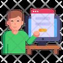 Website Login Icon