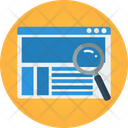 Website Magnifier Seo Search Icon