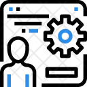 Management Website Maintenance Icon