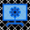 Website Maintenance Computer Setting Icon
