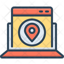 Website Map Website Map Icon
