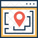 Website Map Icon