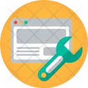 Website Monkey Wrench Icon