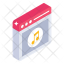 Website Music Web Songs Online Songs Icon