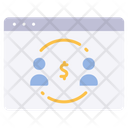 Website online payment Icon