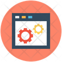 Website Technical Support Optimization Icon
