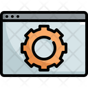 Gear Setting Configuration Icon