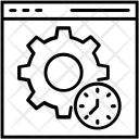 Website Optimization Cog Icon