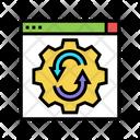 Website Optimize Web Site Icon
