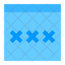 Password Cloud Network Icon