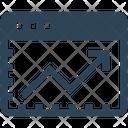 Seo Website Graph Icon