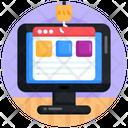 Web Hacking Web Phishing Webhook Icon
