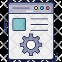 Website Profile Setting Web Account Setting Web Profile Setting Icon