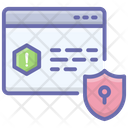 Website Protection Website Security Cyber Security Icon