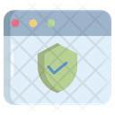 Artboard Website Protection Virus Protection Icon