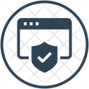 Website Browser Protection Icon