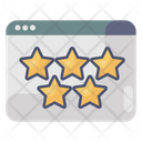 Website Ranking Web Rating Ratings Icon