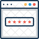 Ranking Web Rating Icon
