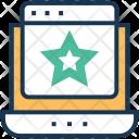 Ranking Web Laptop Icon