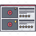 Rating Website Film Icon