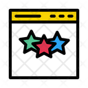 Rating Feedback Browser Icon